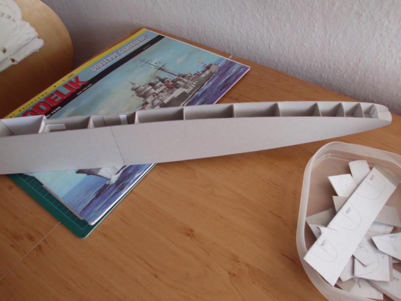 Giuseppe Garibaldi Modelik 1:200 gebaut von Herbert Dsci7117