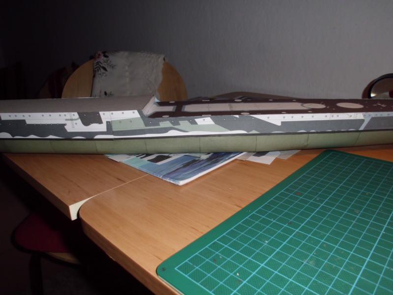 Giuseppe Garibaldi Modelik 1:200 gebaut von Herbert Dsci7126