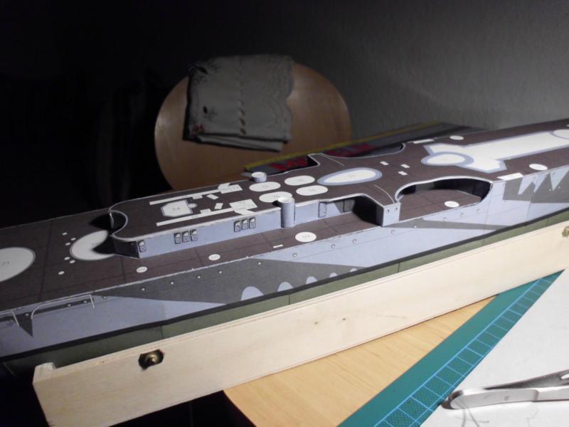 Giuseppe Garibaldi Modelik 1:200 gebaut von Herbert Dsci7138