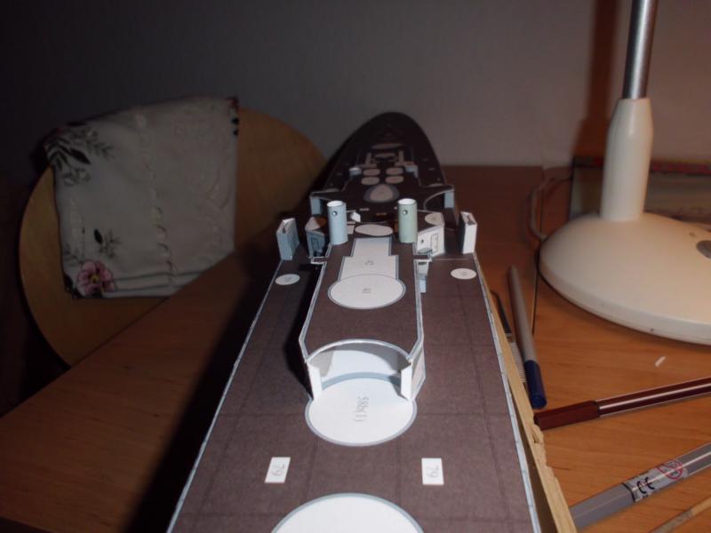 Giuseppe Garibaldi Modelik 1:200 gebaut von Herbert Dsci7140