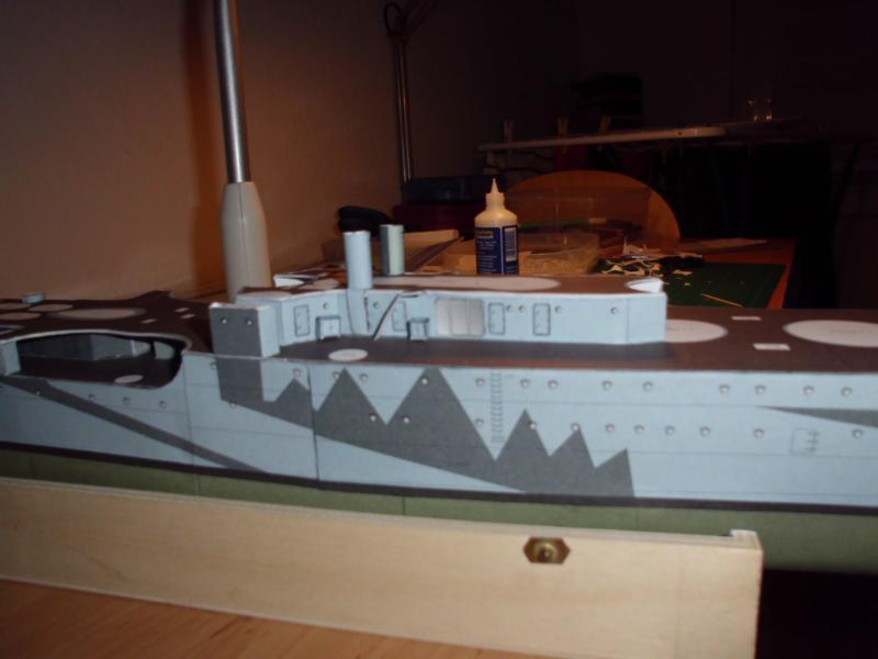 Giuseppe Garibaldi Modelik 1:200 gebaut von Herbert Dsci7141