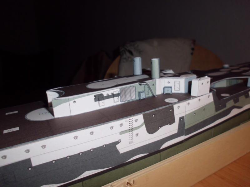 Giuseppe Garibaldi Modelik 1:200 gebaut von Herbert Dsci7142