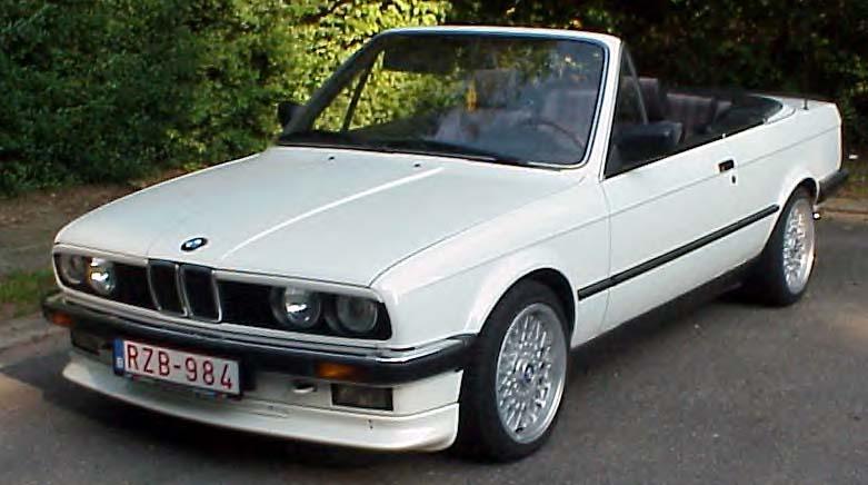 BMW  323i CABRIOLET 1986 (créa à partir du coupé) 95 PHOTOS 113