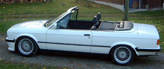 BMW  323i CABRIOLET 1986 (créa à partir du coupé) 95 PHOTOS 316