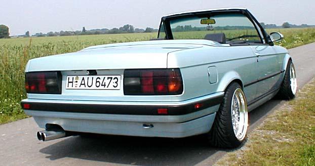 BMW  323i CABRIOLET 1986 (créa à partir du coupé) 95 PHOTOS 515