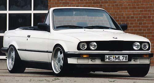 BMW  323i CABRIOLET 1986 (créa à partir du coupé) 95 PHOTOS 614