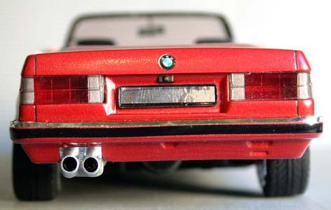 BMW  323i CABRIOLET 1986 (créa à partir du coupé) 95 PHOTOS 7510
