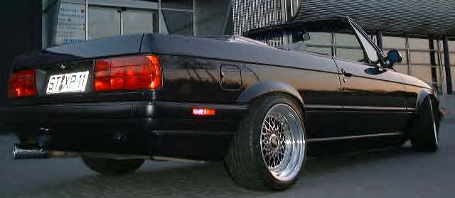 BMW  323i CABRIOLET 1986 (créa à partir du coupé) 95 PHOTOS 812