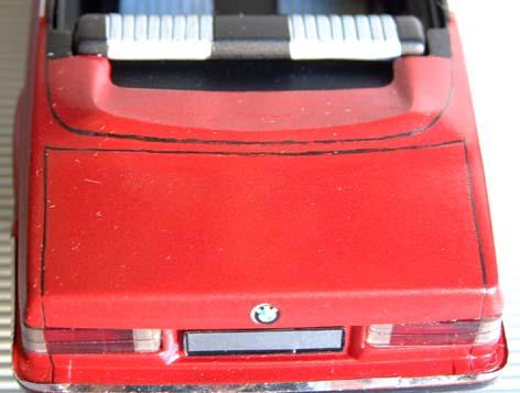 BMW  323i CABRIOLET 1986 (créa à partir du coupé) 95 PHOTOS 8210