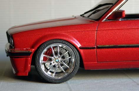 BMW  323i CABRIOLET 1986 (créa à partir du coupé) 95 PHOTOS 9410