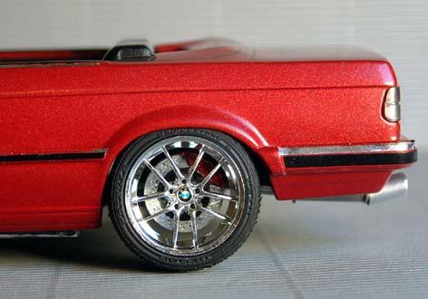 BMW  323i CABRIOLET 1986 (créa à partir du coupé) 95 PHOTOS 9510