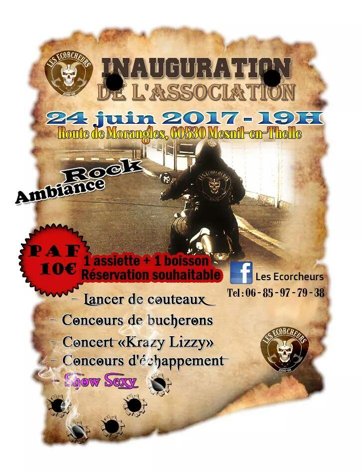 24 juin 2017 inauguration du locl des  les ecorcheur s Fb_img17