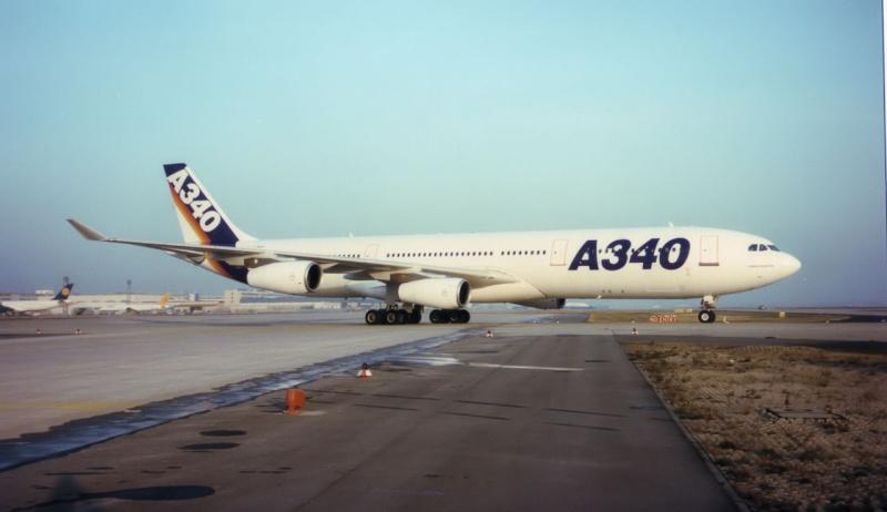 A340 in FRA F-wwai10
