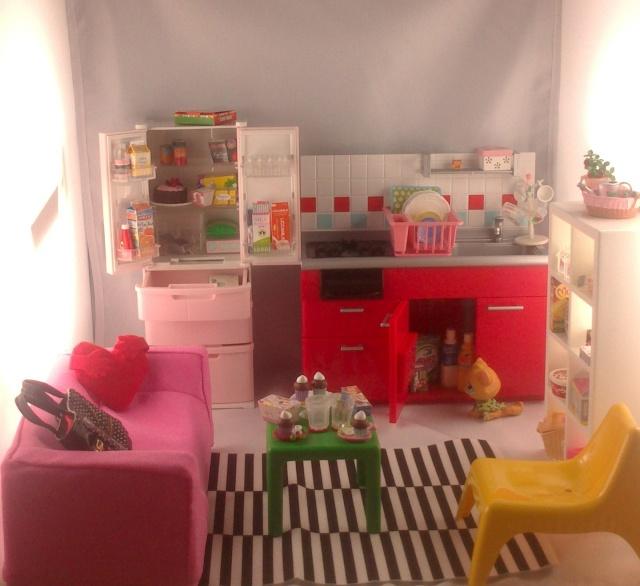 [Projet dollhouse]mission accessoires!~pliages et re-ments~  Miniat10