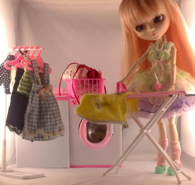 [Projet dollhouse]mission accessoires!~pliages et re-ments~  Photos14