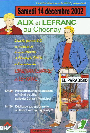 """Lefranc et produits """"para-BD"""" - Page 8 Affich14"""