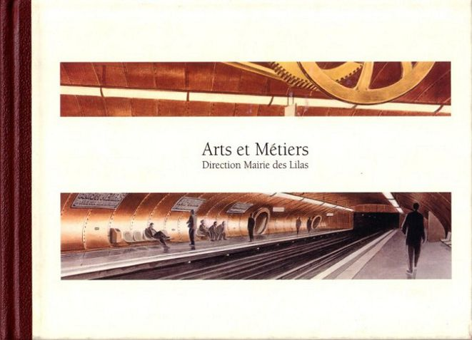 """Les """"livres perdus"""" de François Schuiten Arts-e10"""