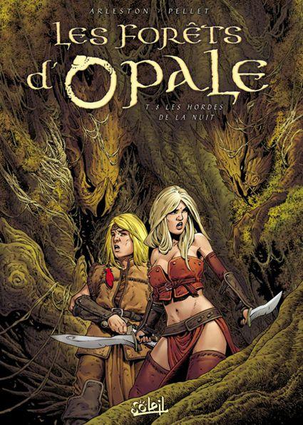 La BD et l'heroic fantasy Forets10