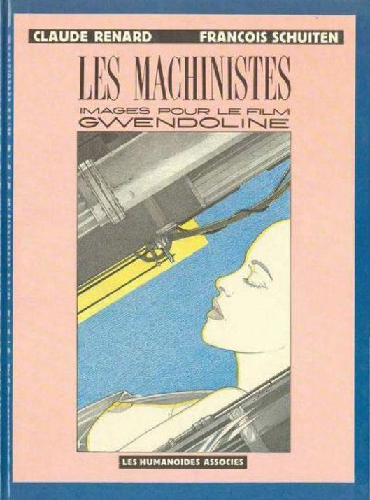 """Les """"livres perdus"""" de François Schuiten Machin10"""