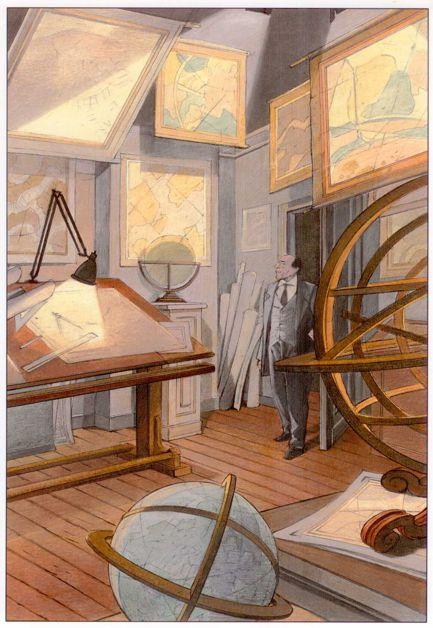 """Les """"livres perdus"""" de François Schuiten Maison14"""