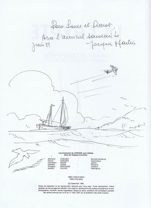 Dédicaces de Lefranc - Page 2 Martin11