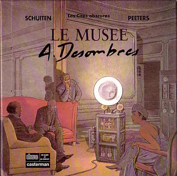 """Les """"livres perdus"""" de François Schuiten Musye-10"""