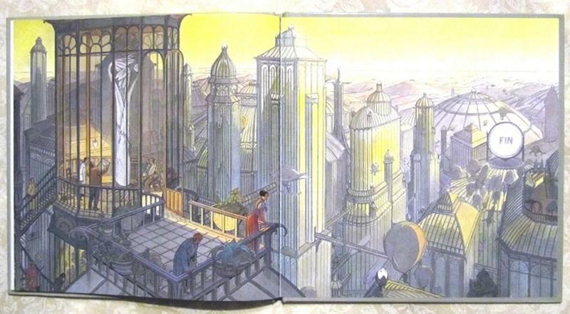"""Les """"livres perdus"""" de François Schuiten Musye-13"""