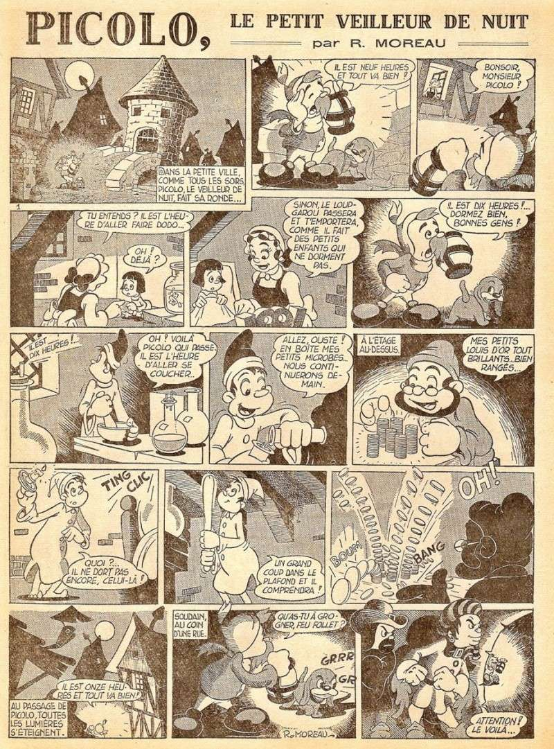 Robert Moreau et Dicky le fantastic - Page 4 P110
