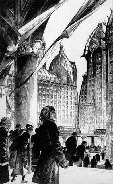 """Les """"livres perdus"""" de François Schuiten Paris-12"""