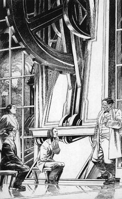 """Les """"livres perdus"""" de François Schuiten Paris-13"""