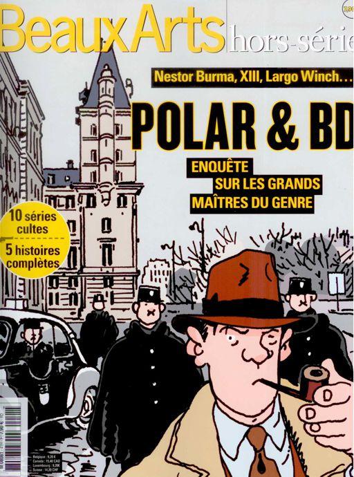 """""""Beaux Arts hors série"""" consacré à la BD - Page 2 Polar10"""