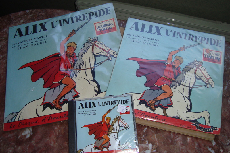 Alix en para-bd( figurines, affiches, pubs etc...) 03310