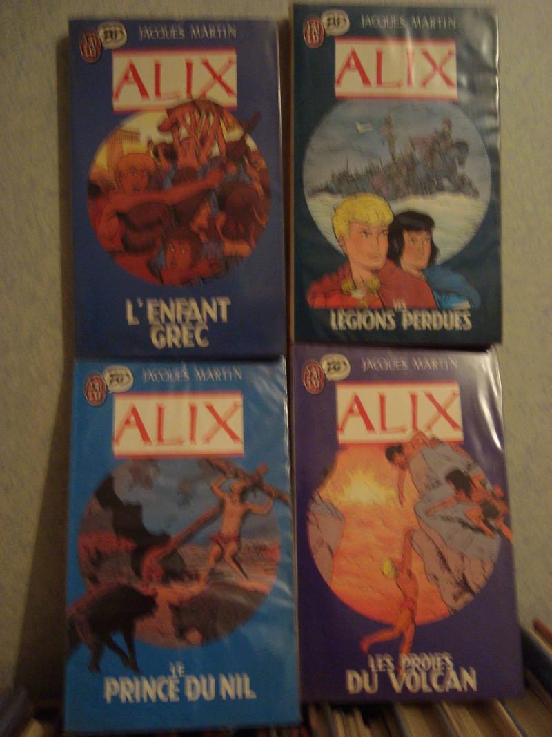 collection des differentes editions d'alix Dsc00110