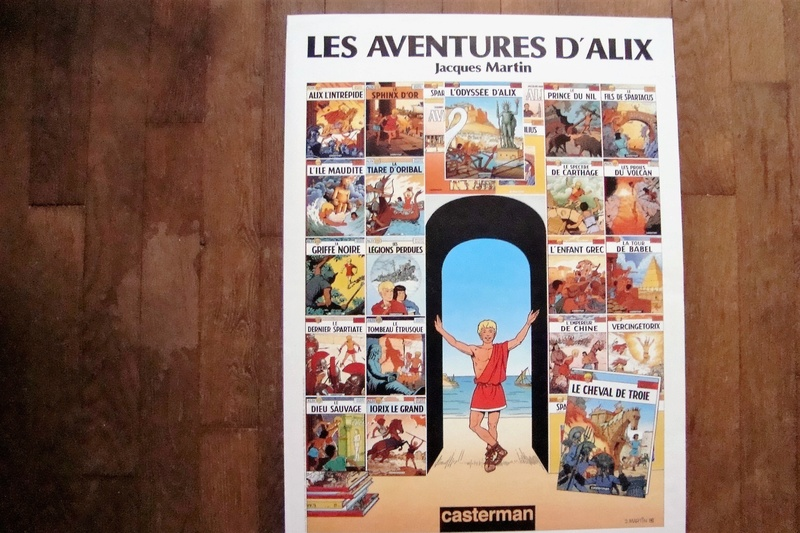 Alix en para-bd( figurines, affiches, pubs etc...) Dsc01112