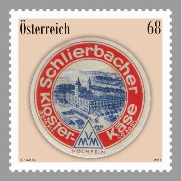 """Sondermarke """"Schlierbacher Käse"""" 02171210"""