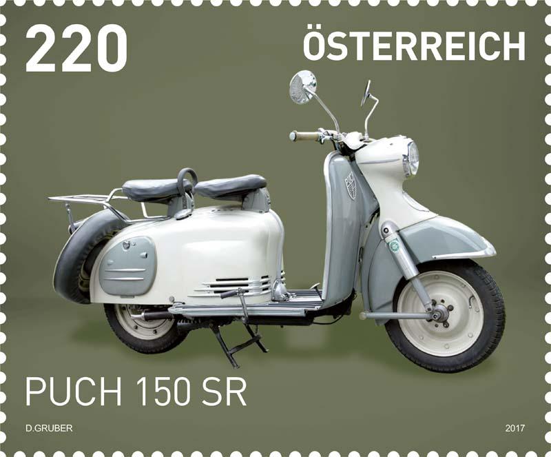 "Sondermarke ""PUCH 150 SR"" Serie ""Motorräder"" 0519_p10"