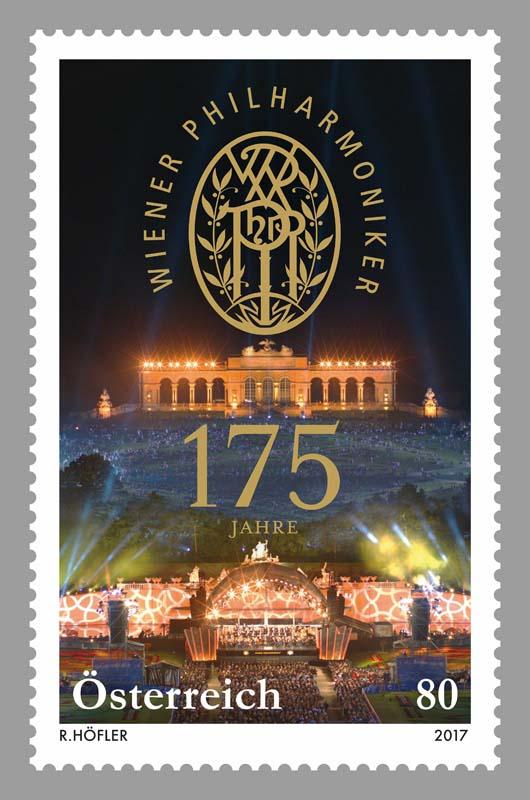 """Sondermarke """"175 Jahre Wiener Philharmoniker"""" 0525_w10"""