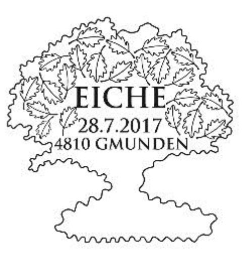 "Holz - Sondermarkenblock ""Eiche"" 0728_e11"