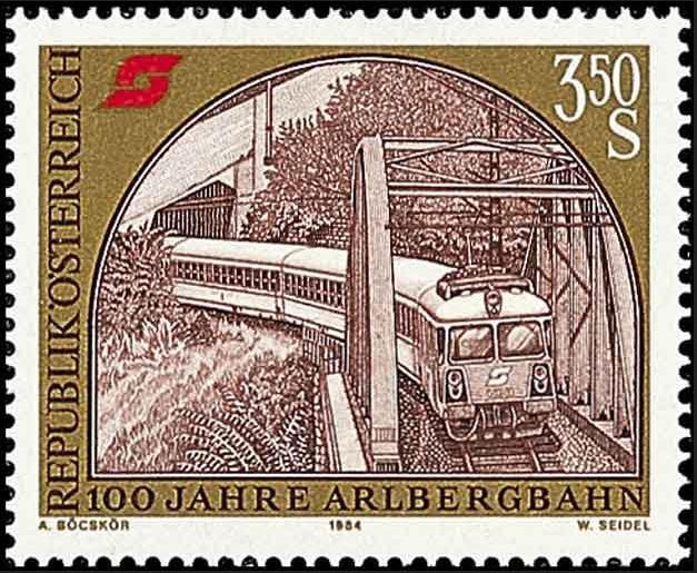 Eisenbahn Arlber10