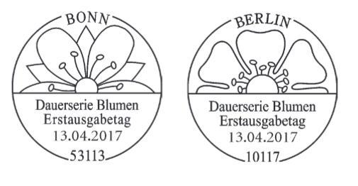 Neuausgaben 2017 - Deutschland Blumen10