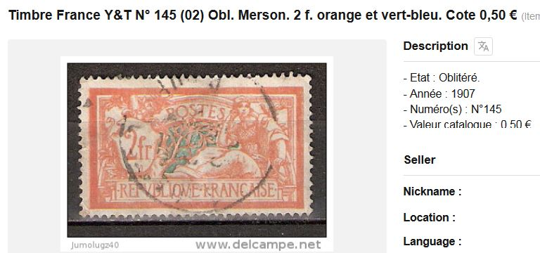 Wertvoll oder nicht?! Briefmarke aus Frankreich Frage_10