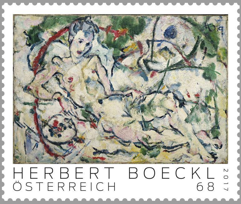 "Sondermarke ""Herbert Boeckl"" Serie ""Moderne Kunst in Österreich"" Marke_11"