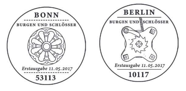 Neuausgaben 2017 - Deutschland Stempe17