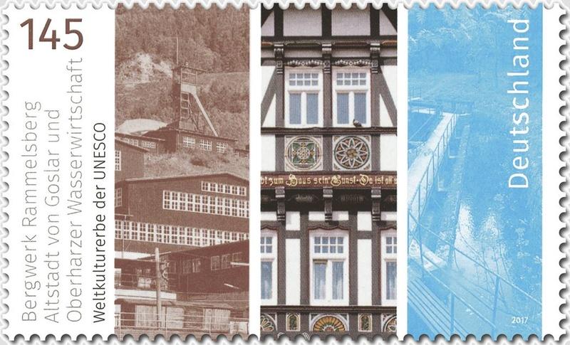Neuausgaben 2017 - Deutschland Unesco10