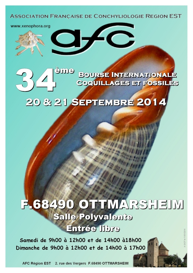 2014 Bourse internationale Ottmarsheim - 20 & 21 Septembre  - AFC Région EST Affich18