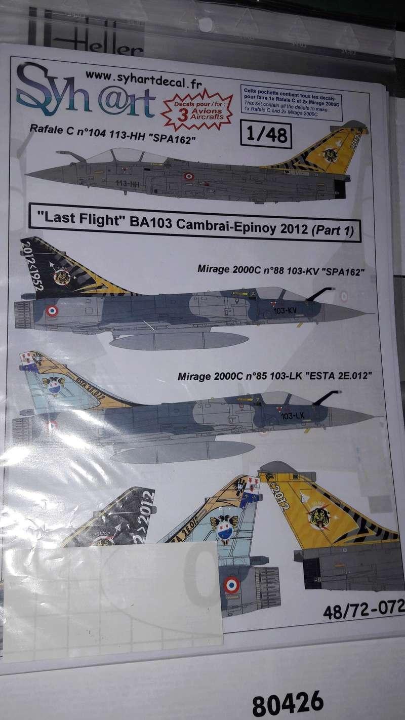 Mirage 2000C n°85 , 88 et 103 dissolution 1/12 Mars 2012 Mirage10