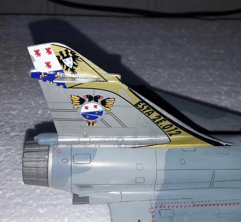 Mirage 2000C n°85 , 88 et 103 dissolution 1/12 Mars 2012 Mirage29