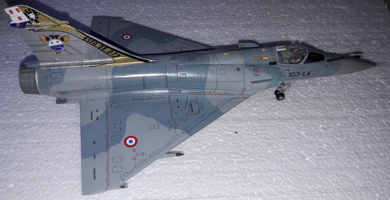 Mirage 2000C n°85 , 88 et 103 dissolution 1/12 Mars 2012 Mirage37
