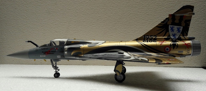 Mirage 2000C n°85 , 88 et 103 dissolution 1/12 Mars 2012 Mirage50