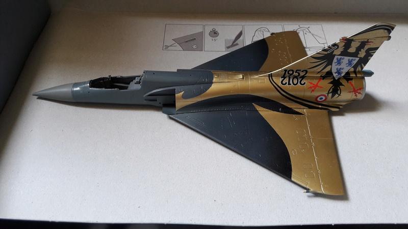 Mirage 2000C n°85 , 88 et 103 dissolution 1/12 Mars 2012 Mirage55